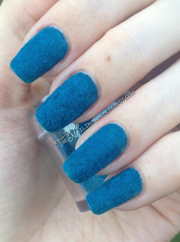 Fuzzy nails!   The Nailinator