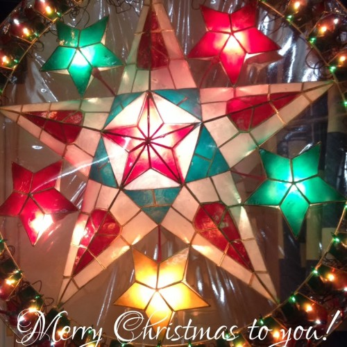 Christmas Lantern - Merry Christmas to you!