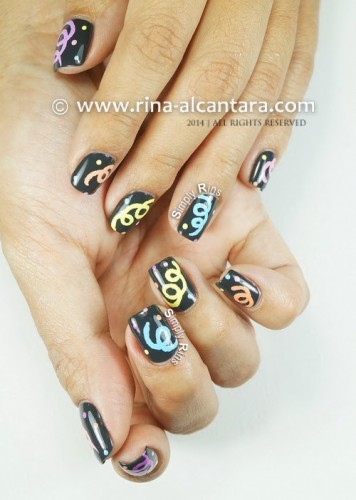 Welcoming 2014 Nail Art