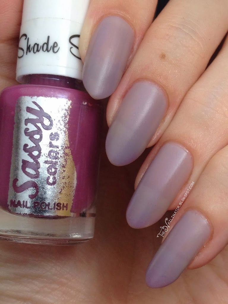 Review of Sassy Color Shifting Polish in Maroon Chameleon | The ...
