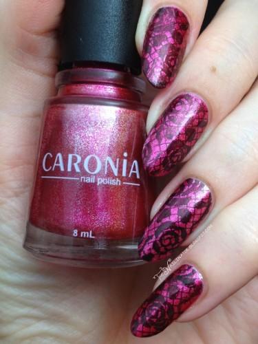 Caronia Stellar and PUEEN Stamping