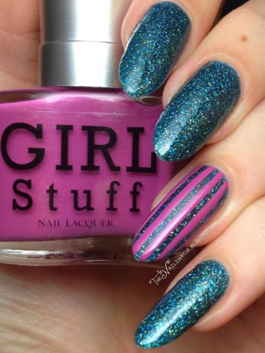 Girl Stuff Soirée with Wild Berries and top coat