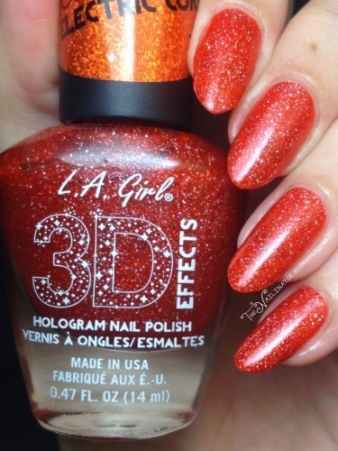 L.A. Girl Electric Coral swatch