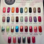 Girlstuff Forever polish swatch chart 2