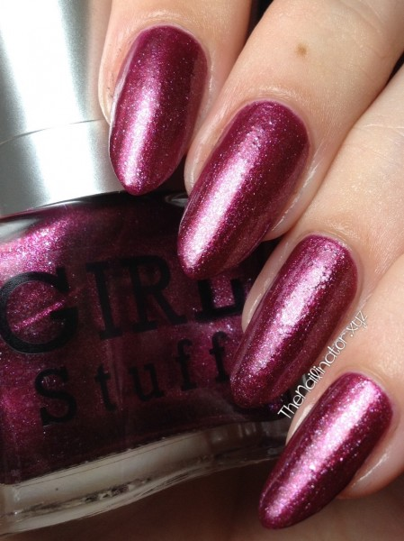 Girlstuff Forever Red Velvet swatch