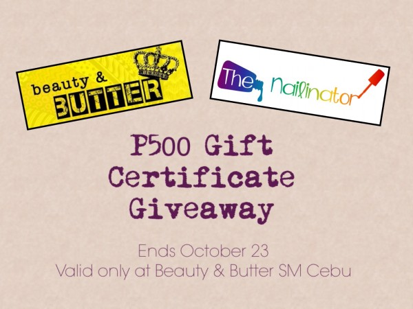Beauty & Butter Giveaway