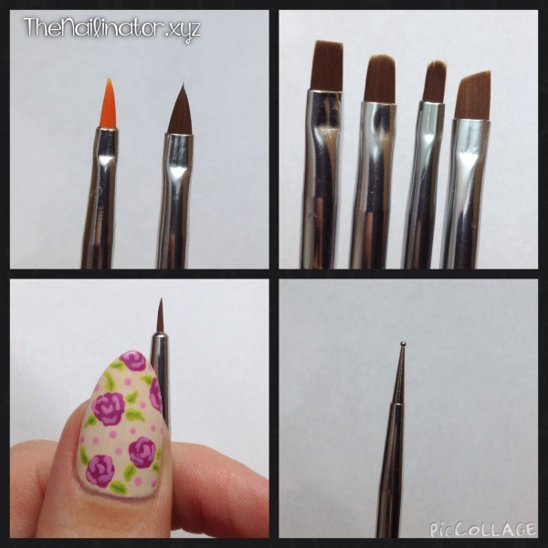 Close up of Born Pretty Store Nail Art Brush Set