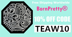 Born Pretty Store Coupon 10% Off Code, TEAW10