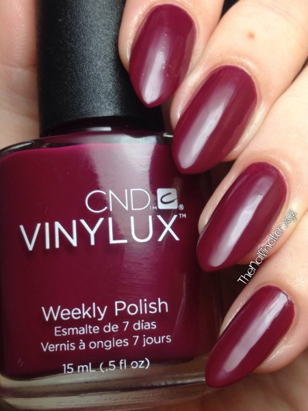 CND Vinylux Weekly Polish Tinted Love swatch