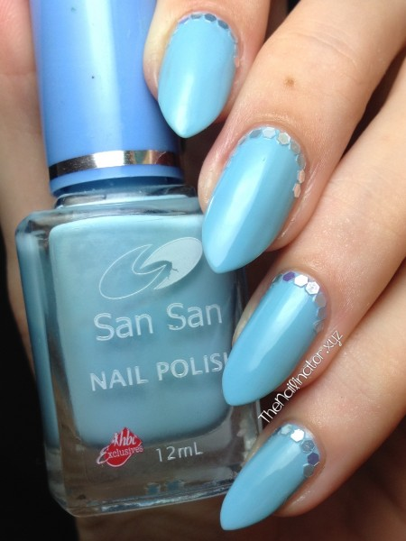 Warm Blue Glitter Ruffian
