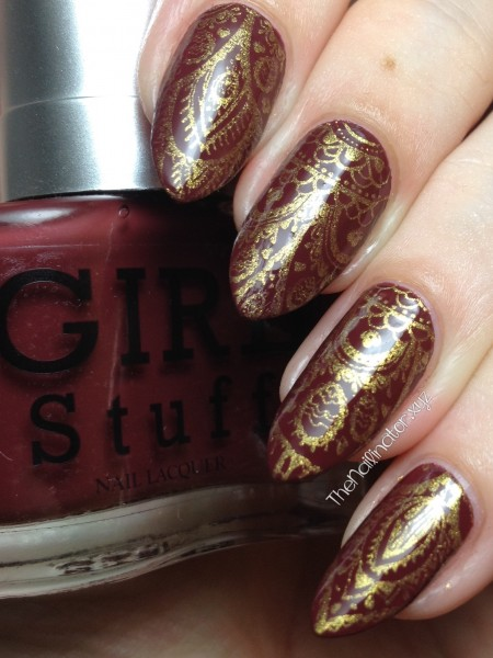 Girlstuff Chestnut with MJ XXVIII stamping
