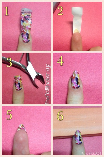 OMG Nail Strip Application