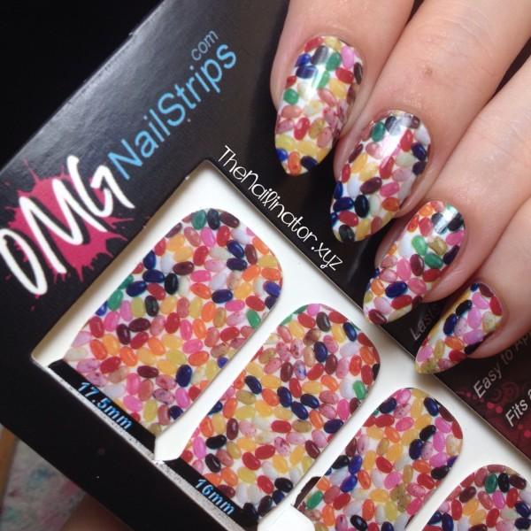 OMG Nail Strips - Jellybean