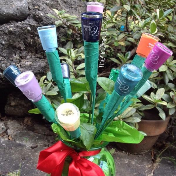 Valentine's 2015 Nail Polish Bouquet