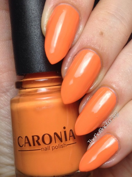Caronia Sun Kissed Swatch