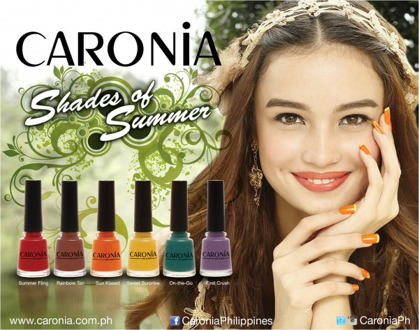 Promotional image for Caronia Shades of Summer