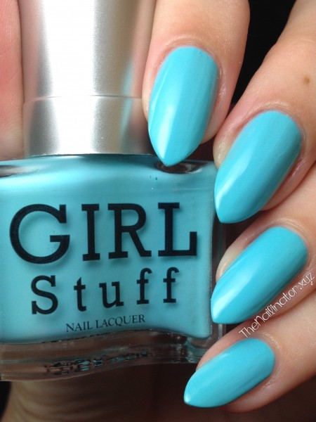 Girlstuff Strutting on Sunshine Swatch