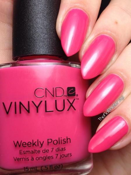 CND Vinylux Pink Bikini Swatch