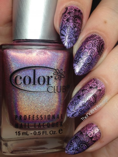 Color club Halo Hues Gradient With Stamping