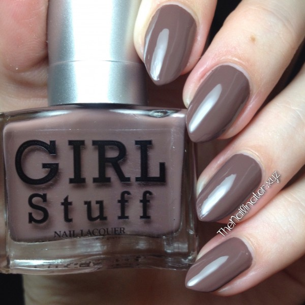 Girlstuff Death By Chocolate swatch