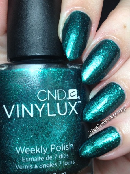 CND Vinylux Emerald Lights Swatch
