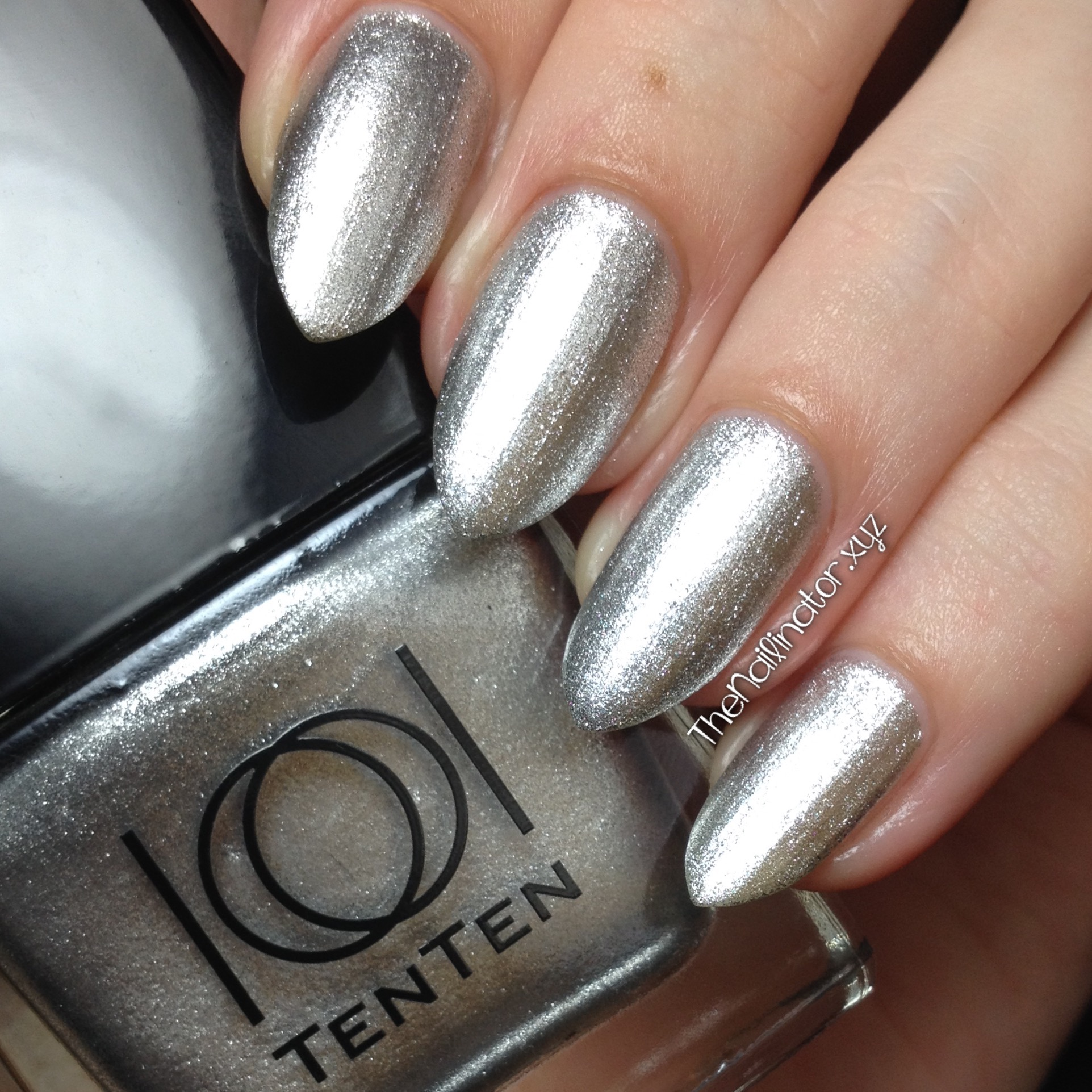 TenTen Nail Color Roman Holiday Collection Swatches | The Nailinator